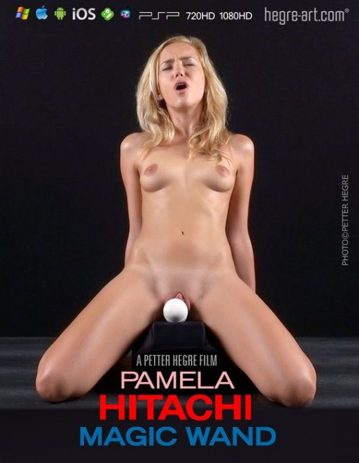Pamela - `#436 - Hitachi Magic Wand` - by Petter Hegre for HEGRE-ART VIDEO